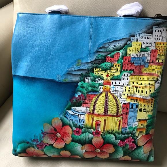 Anuschka Handbags - 8347 AMD Anna by Anuschka Amalfi Dawn tote bag